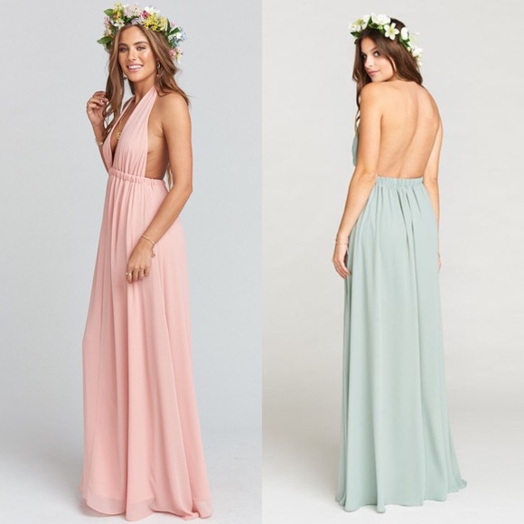 6474654e0f1a Show Me Your Mumu PURPLE Luna Halter Dress XS. M_5c216a3603087cfe9dbc3fcc